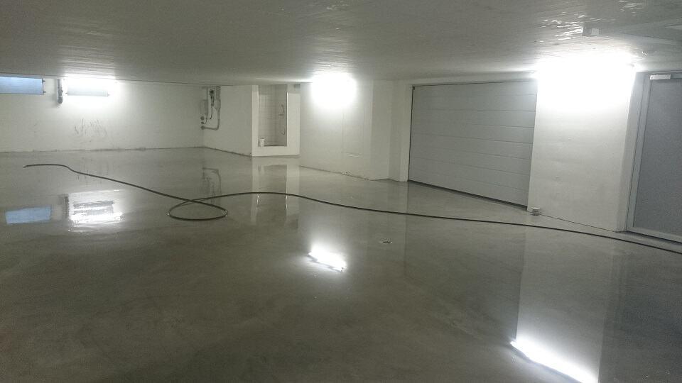 Tiefgarage, Garagen, Flächen, Flächenreinigung